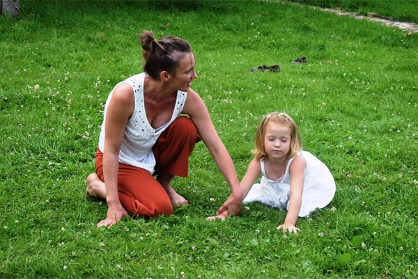 contakids dresden - Anna Neuber - ContaKids Lehrerin bei einem Outdoor-Kurs im Riesengebirge in Polen